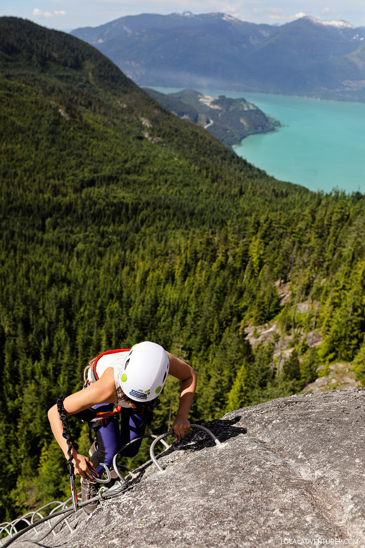 Squamish Via Ferrata Tips for Beginners // localadventurer.com