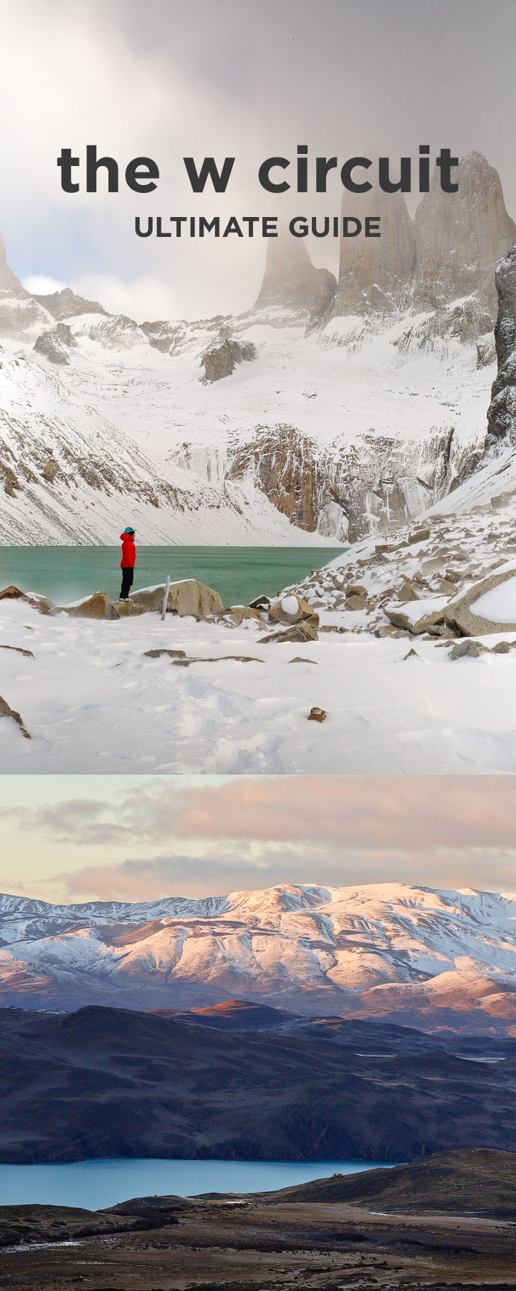 How to Hike the Torres del Paine W Trek - Everything You Need to Know // localadventurer.com