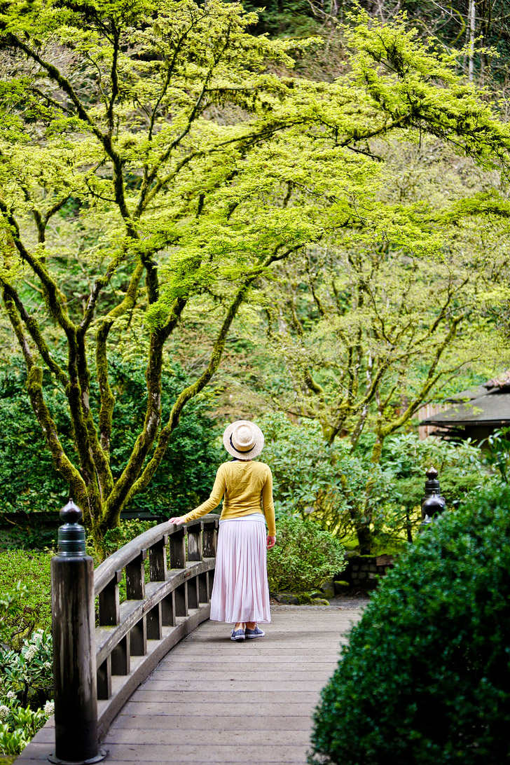 Portland Japanese Garden + 13 Beautiful Viewpoints in Portland Oregon // localadventurer.com