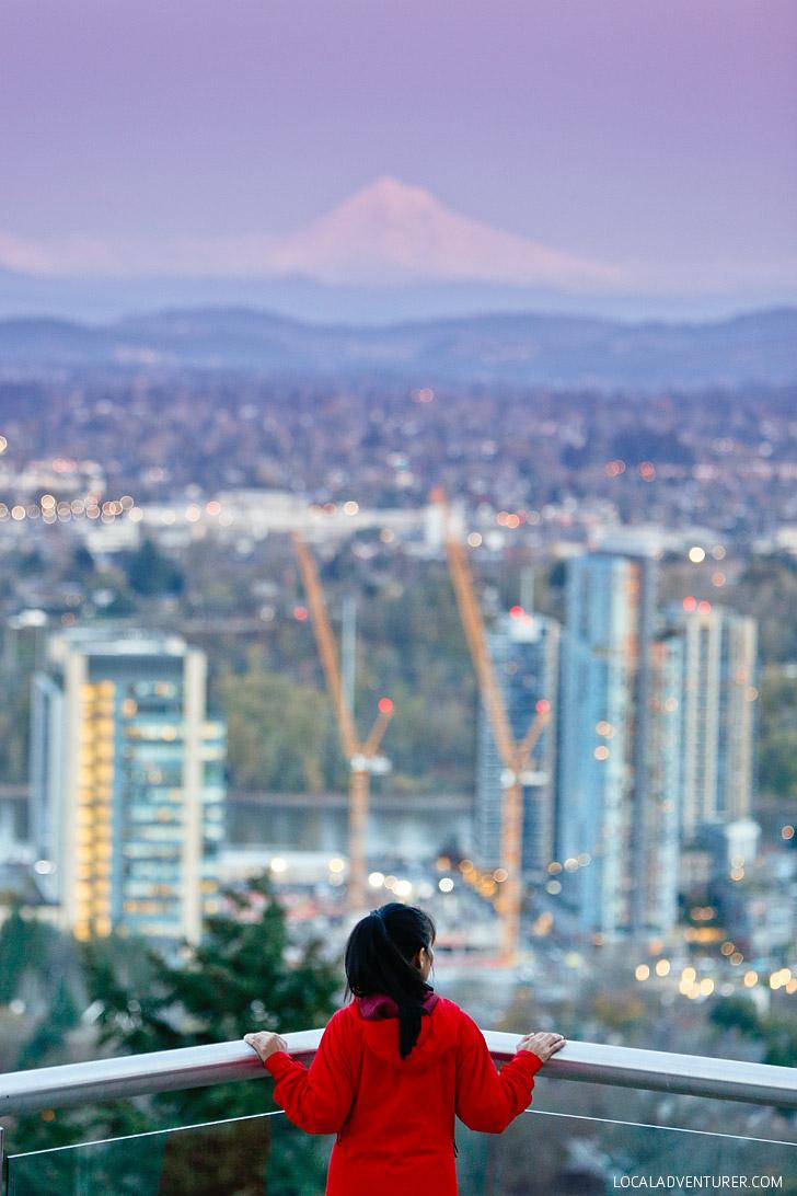 OHSU Tram + Where to Find the Best Views in Portland Oregon // localadventurer.com