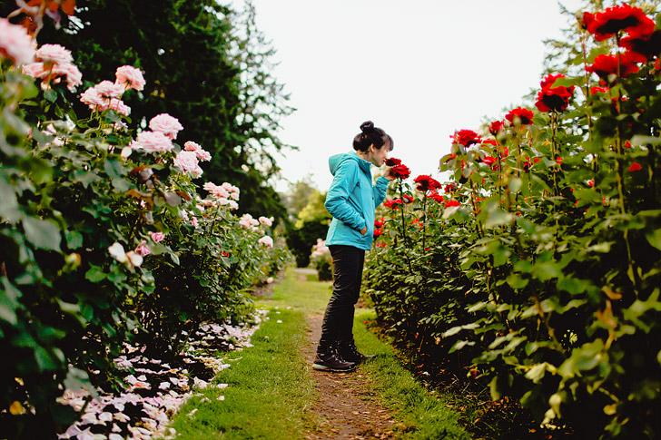 Portland International Rose Test Garden + How to Find the Best Photo Spots and Views in Portland Oregon // localadventurer.com