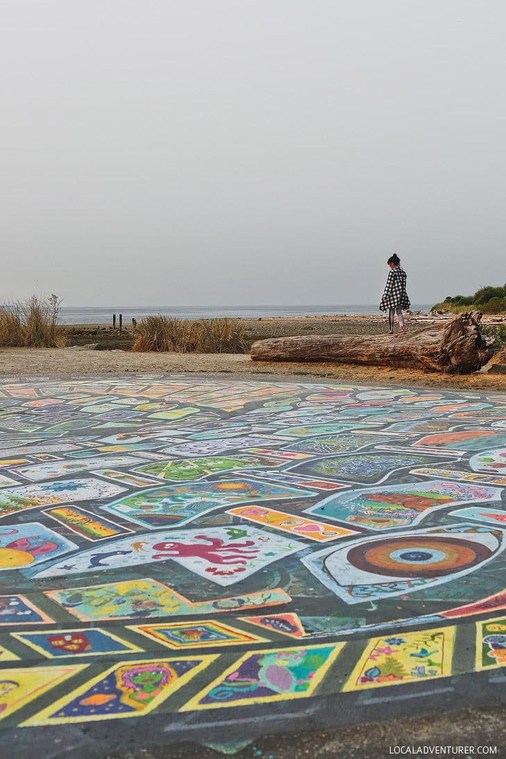 Roberts Creek Mandala + Amazing Things to on the Sunshine Coast BC // localadventurer.com