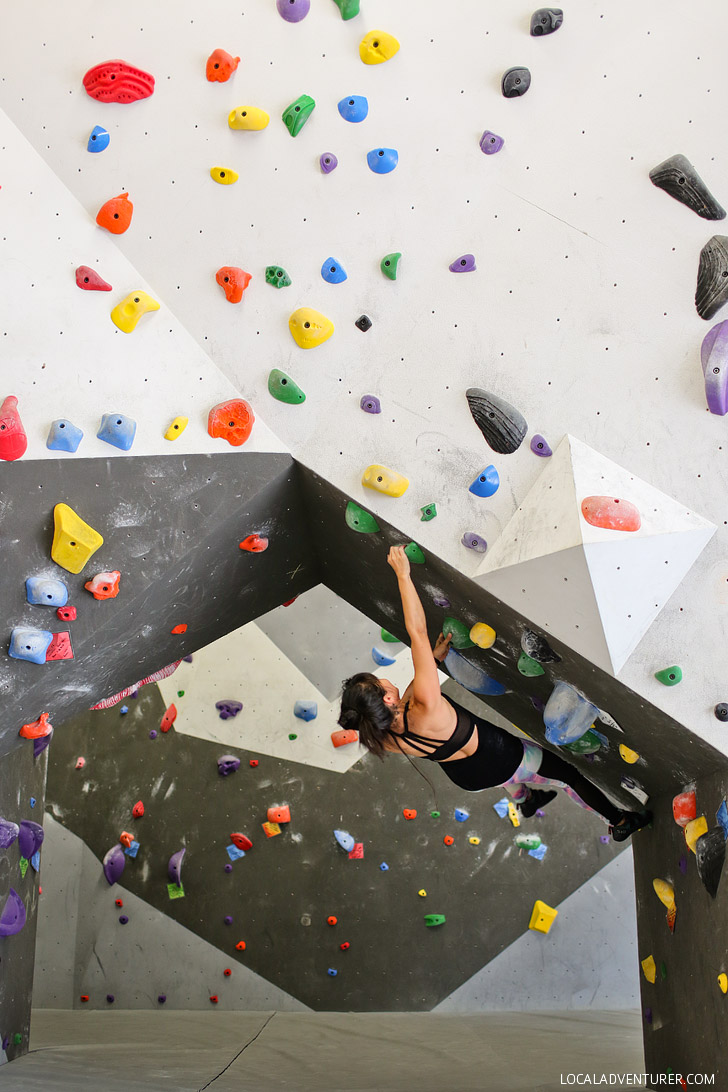 Hangar Climbing Lounge + The Ultimate BC Sunshine Coast Road Trip // localadventurer.com