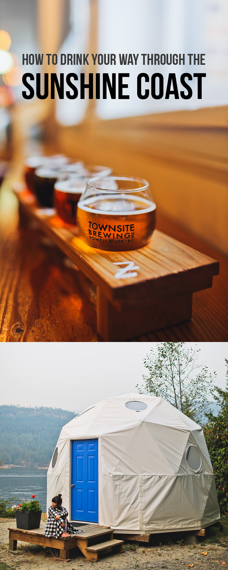 How to Drink Your Way Through the Sunshine Coast BC Ale Trail // localadventurer.com