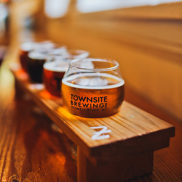 Townsite Brewing, Powell River BC + Your Essential Guide to the Sunshine Coast BC Ale Trail // localadventurer.com