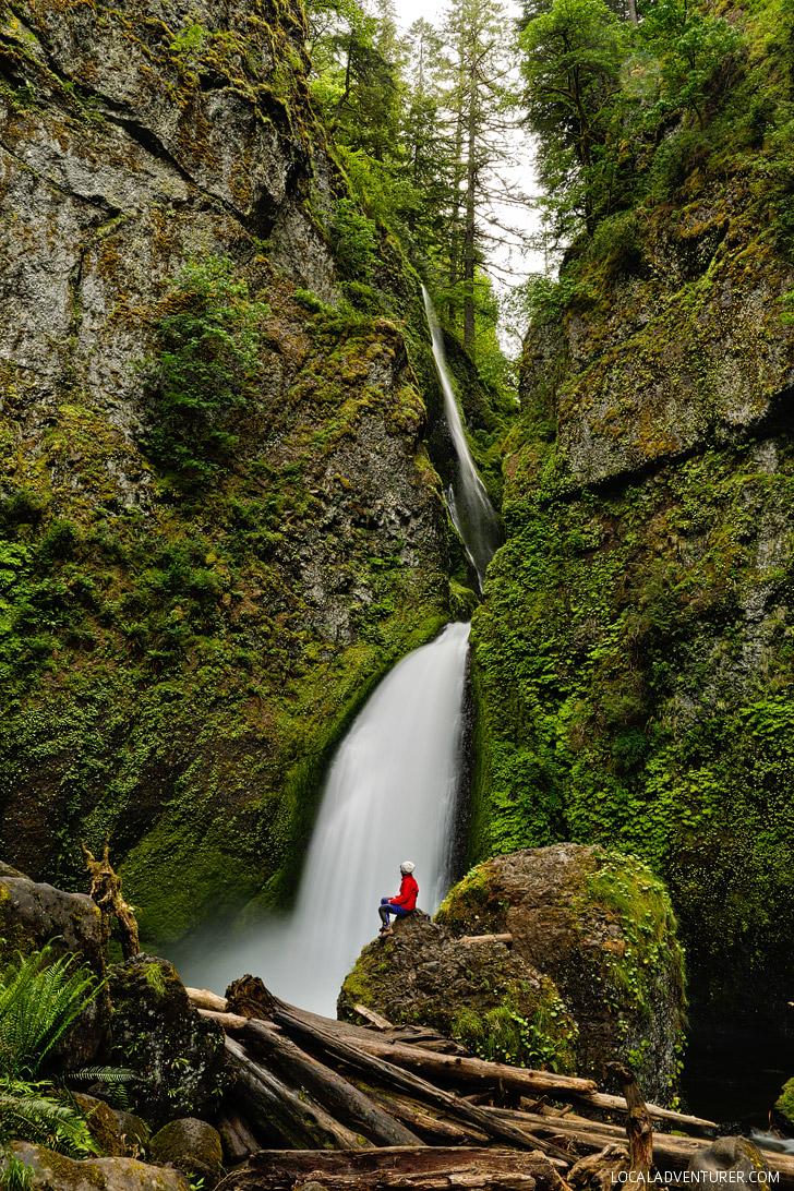Wahclella Falls Hike Columbia River Gorge Oregon 187 Local