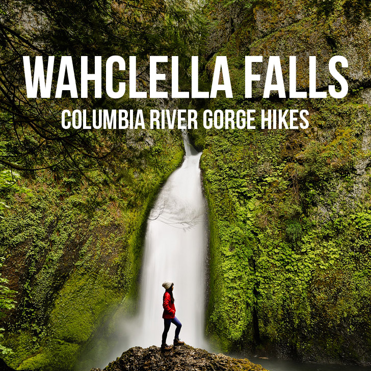Wahclella Falls Hike, Columbia River Gorge, Oregon