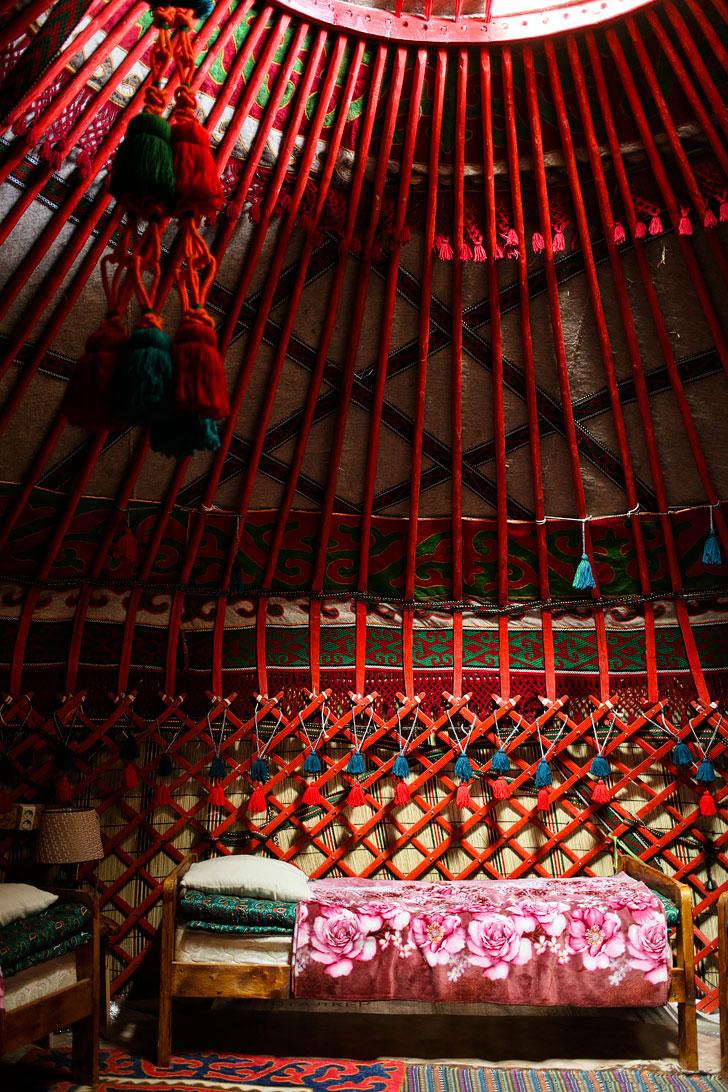 Yurt Camping in Karakol at Happy Nomads Village // localadventurer.com