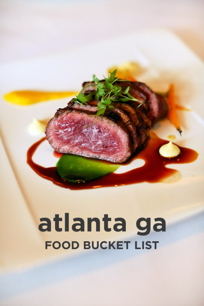 The Ultimate Atlanta Food Bucket List - 49 Best Places to Eat in Atlanta Georgia // localadventurer.com