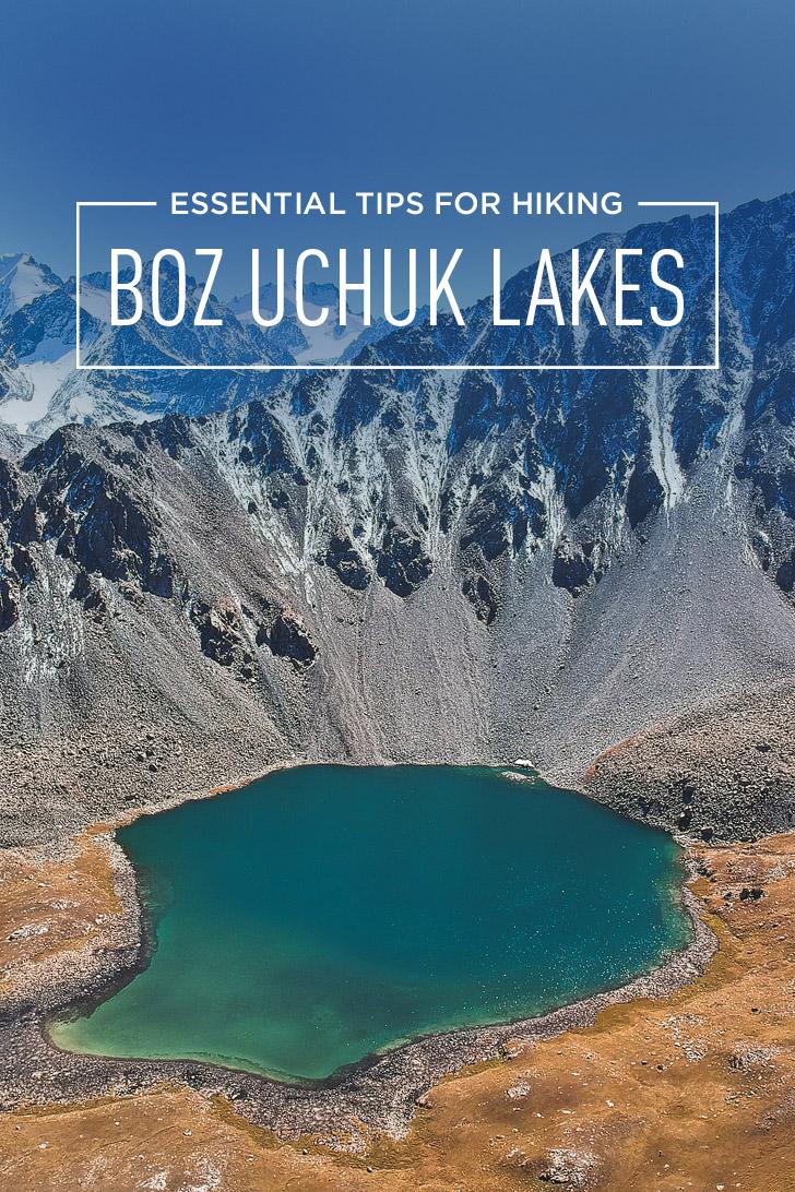 Kyrgyzstan Hiking - How to Hike to Boz Uchuk Lakes // localadventurer.com