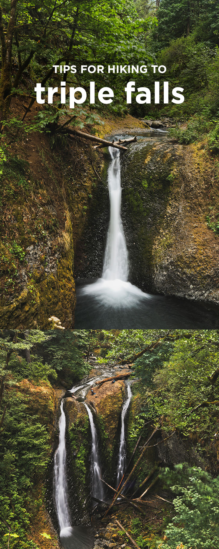 Triple Falls Hike - Columbia River Gorge Waterfall Hikes // localadventurer.com