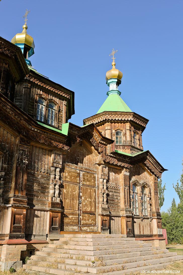 Holy Trinity Church Karakol Kyrgyzstan + Your Essential Guide to Karakol // localadventurer.com