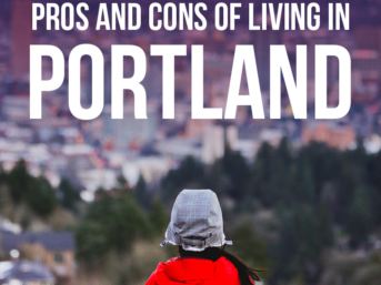 What it's like living in Portland Oregon: the Pros and Cons // localadventurer.com