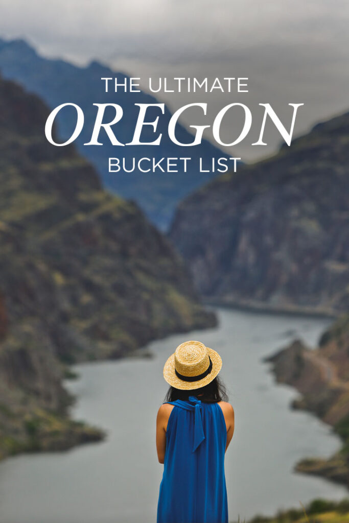 The Ultimate Oregon Bucket List in Regions - Greater Portland, the Gorge, Oregon Coast, Willamette Valley, Central Oregon, Eastern Oregon, and Southern Oregon // Local Adventurer #oregon #traveloregon #usa #pnw #pacificnorthwest #travel #bucketlist