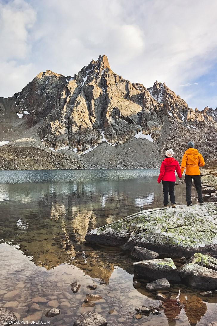 Hiking Guide to Kyrgyzstan Lakes - Upper Boz Uchuk Lake // localadventurer.com