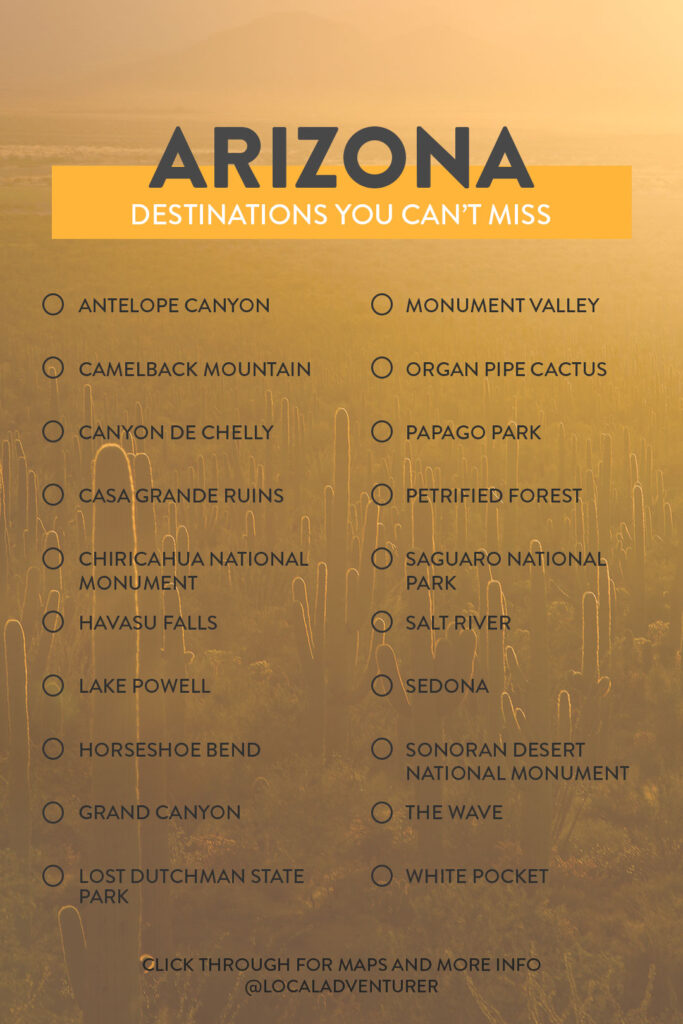 Your Essential Arizona Bucket List