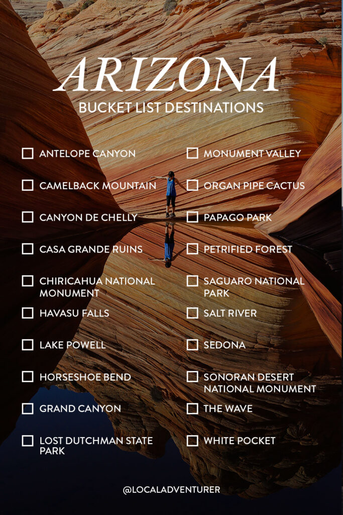 Your AZ Bucket List