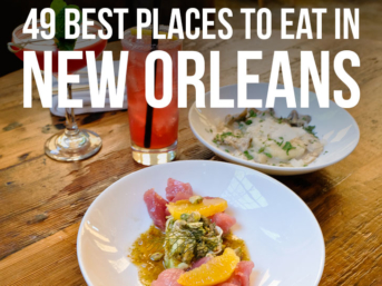 The Ultimate NOLA Food Bucket List - 49 Best Places to Eat in New Orleans Louisiana - from new award winning restaurants to old legendary ones // localadventurer.com
