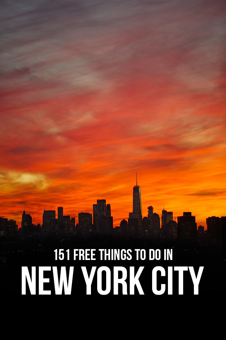 Free Stuff to Do in NYC // Local Adventurer