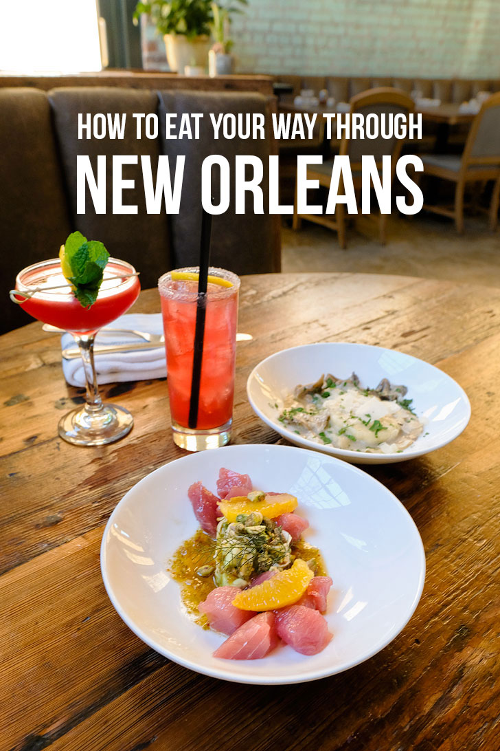 How to Eat Your Way Through New Orleans - The Ultimate NOLA Food Bucket List - 49 Best Places to Eat in New Orleans Louisiana - from new award winning restaurants to old legendary ones // localadventurer.com