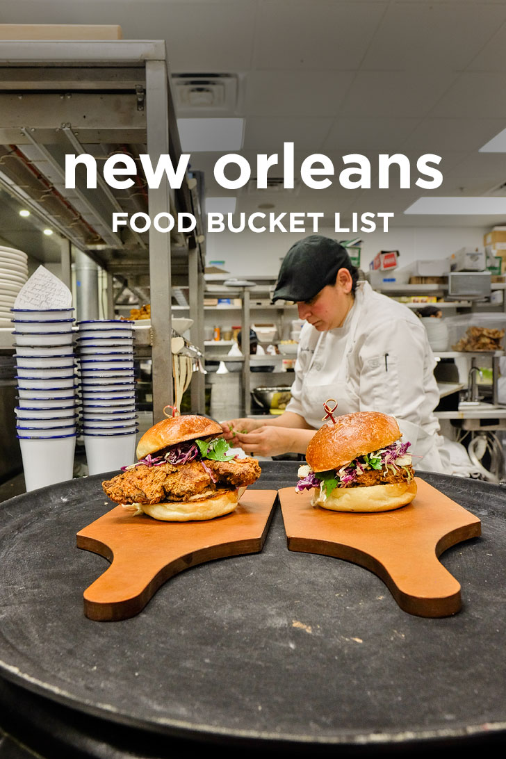 The Ultimate New Orleans Food Bucket List - 49 Best Restaurants in New Orleans Louisiana // localadventurer.com
