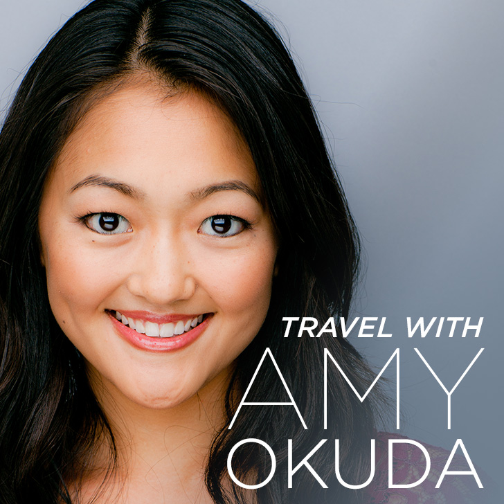 Travel with Amy Okuda