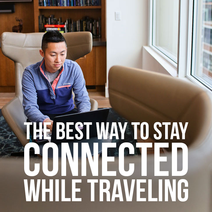 The Best Way to Stay Connected While Traveling + Giveaway