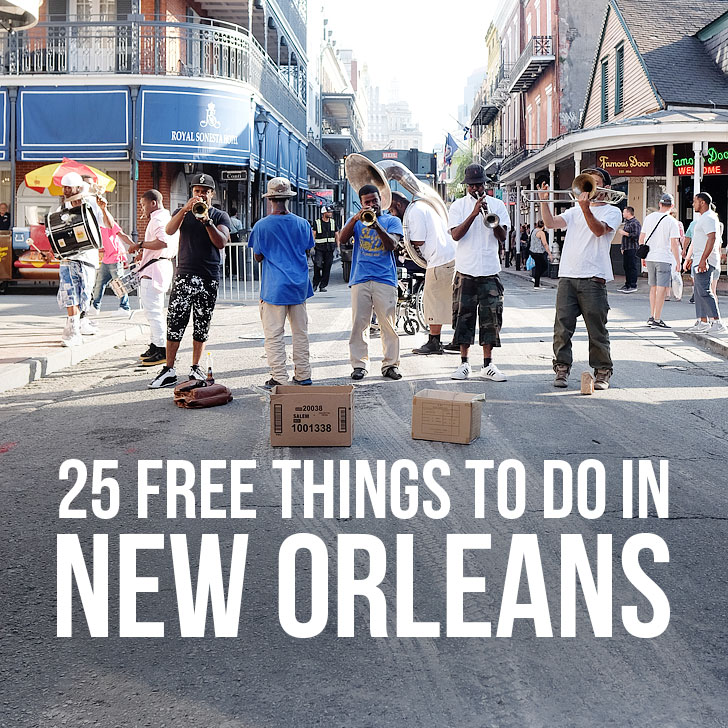 Free things to do in new orleans how to explore on a budget for Things to do in mew orleans