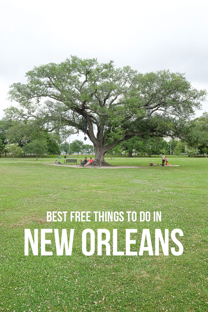 25 Fun Free Things to Do in New Orleans // Local Adventurer