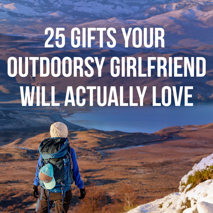 25 Outdoorsy Gifts for Her { Your Essential Gift Guide for Women Who Love the Outdoors } // Local Adventurer + REI Gift Ideas