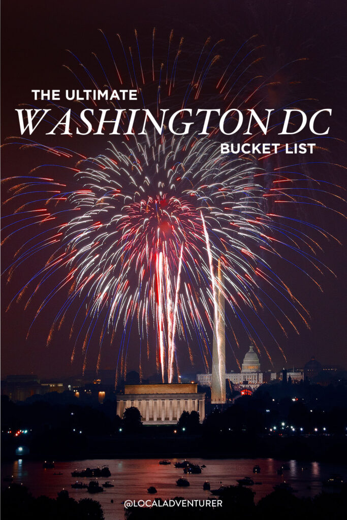 101 Things to See in Washington DC