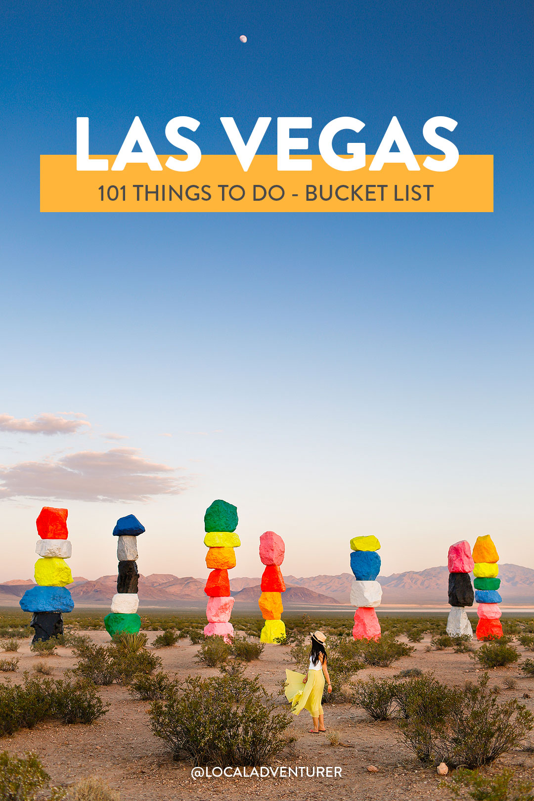 101 Things to Do in Las Vegas - Your Ultimate Vegas Bucket List // Local Adventurer
