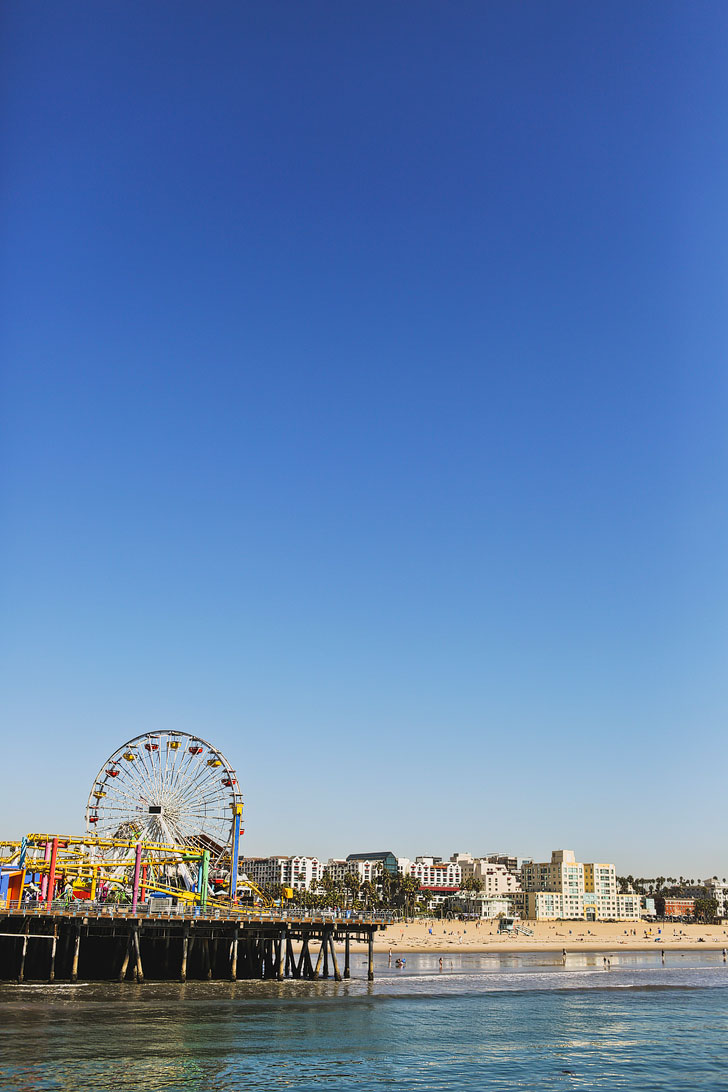 Santa Monica Pier + Your Ultimate Pacific Coast Highway Road Trip Planner // localadventurer.com
