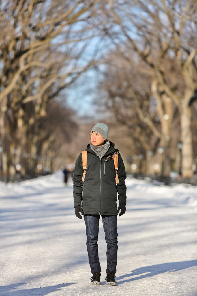 Winter Outerwear New York City