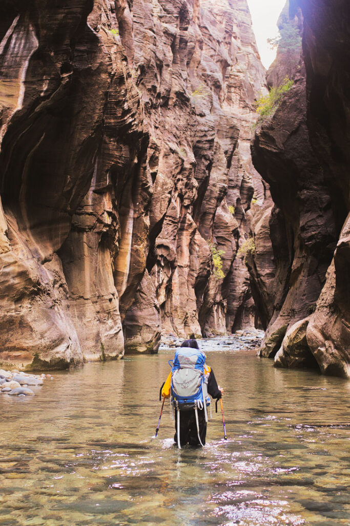 The Narrows, Zion National Park + 15 Incredible Road Trips from Las Vegas // Local Adventurer