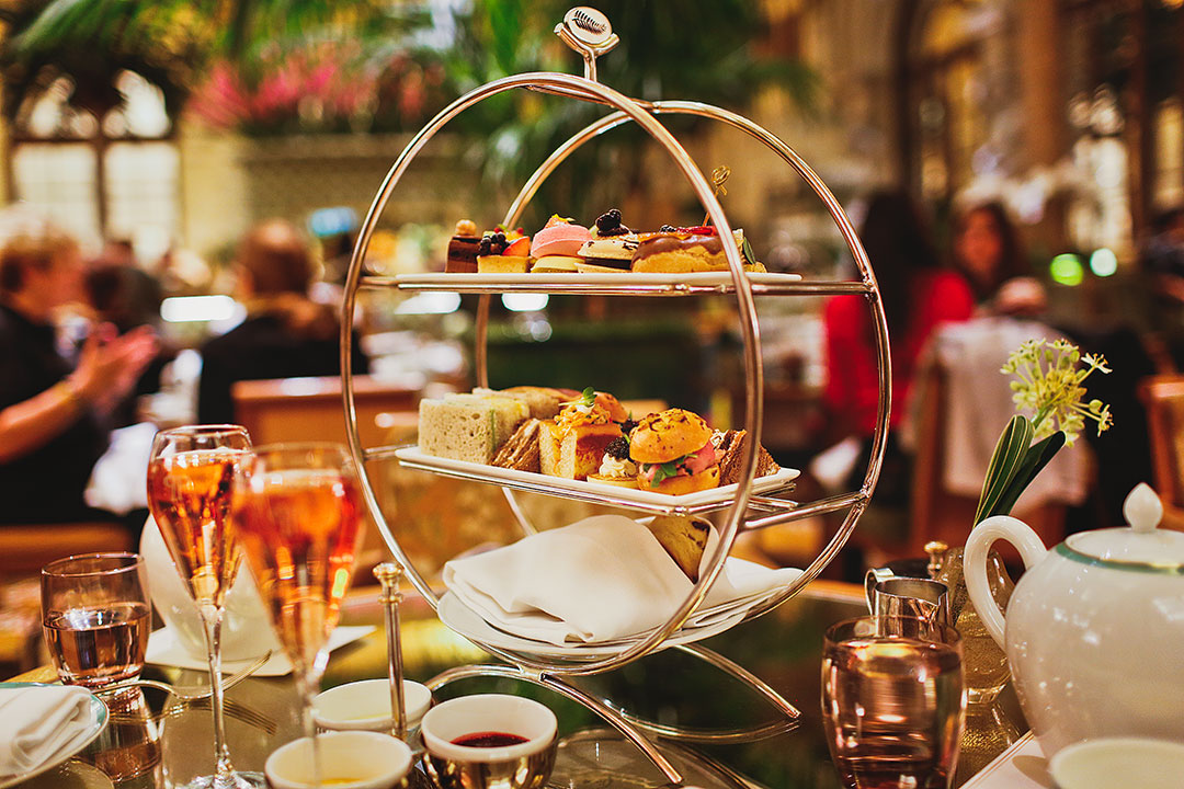 Afternoon Tea at the Plaza Hotel NYC // New York in the Rain