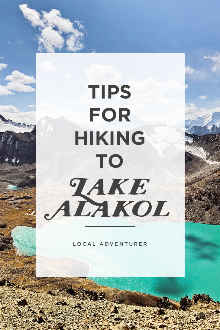 Trekking Kyrgyzstan - Tips for Hiking to Ala Kol Lake // localadventurer.com