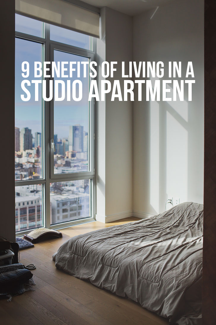 9 Benefits of Living in a Studio Apartment - Living Large in Small Spaces // localadventurer.com