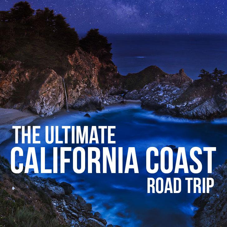 California Coast Road Trip on Hwy 1
