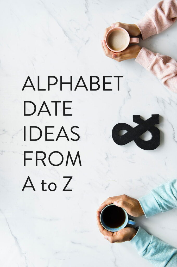 Creative Alphabet Dates