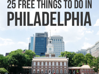 Best Free Places to Go in Philadelphia Pennsylvania - Everything from Historic Sites to Brewery Tours // localadventurer.com