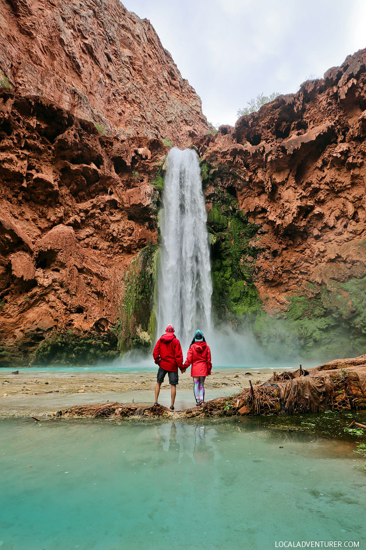 Havasupai Reservations + 11 Most Popular Hiking Trails in the US where the Hardest Part is Getting a Permit to Do it // localadventurer.com