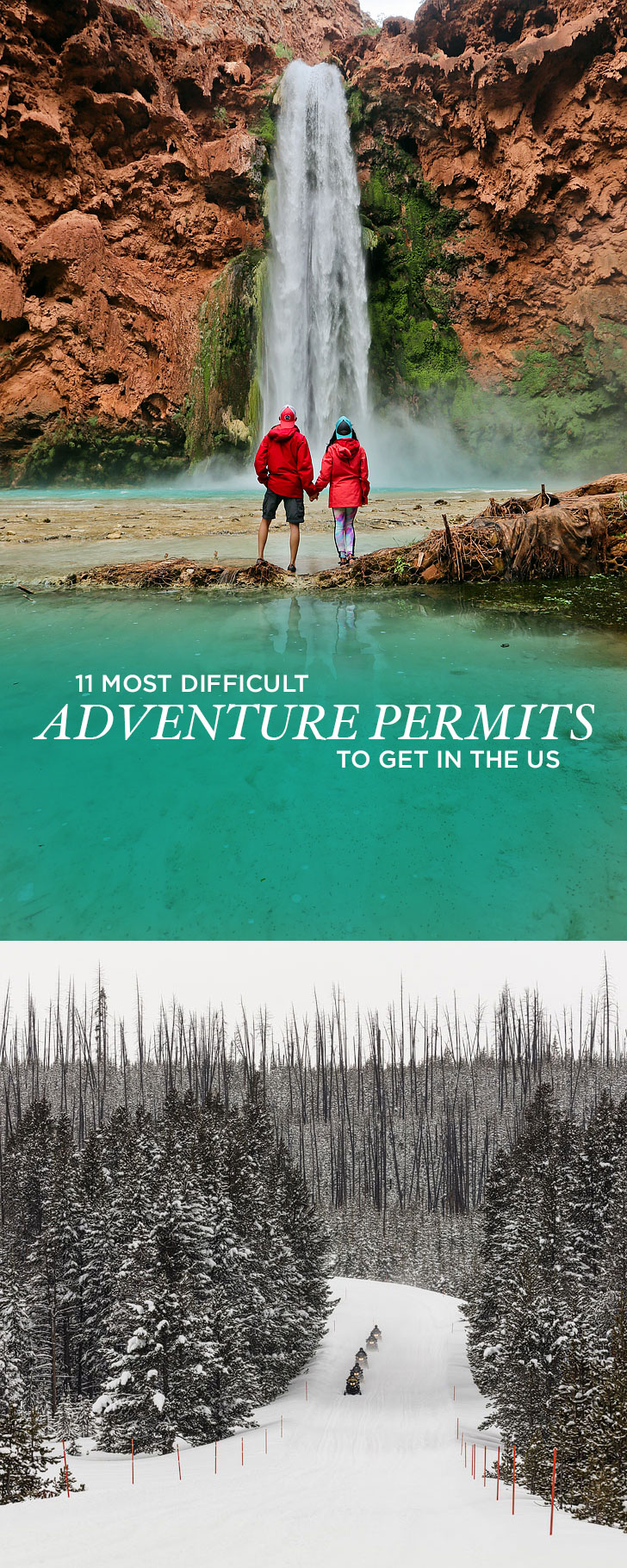 Most Beautiful Hikes in the US + The Most Difficult Adventure Permits to Get // localadventurer.com