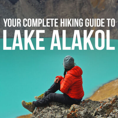 Your Ultimate Guide to Hiking Lake Alakol in Kyrgyzstan // localadventurer.com