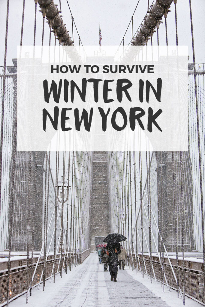 How to Survive New York Winter Weather + Tips on Keeping Warm Inside and Outside // Local Adventurer