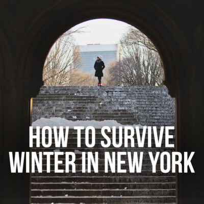 How to Survive Winter in New York - Your Essential Guide on What to Wear and How to Keep Your House Warm // localadventurer.com