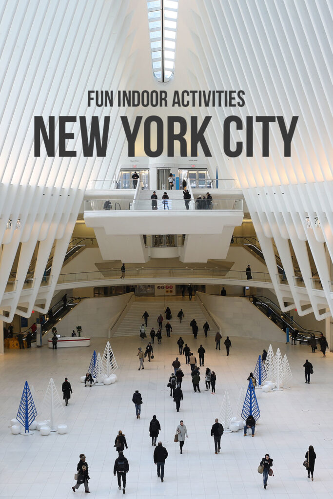 25 Fun Indoor Activities NYC