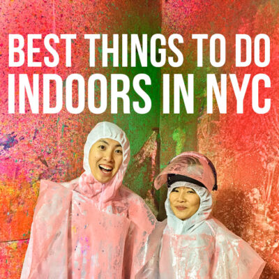 25 Fun Indoor Things to Do in NYC for Rainy Days and Cold Winters // Local Adventurer