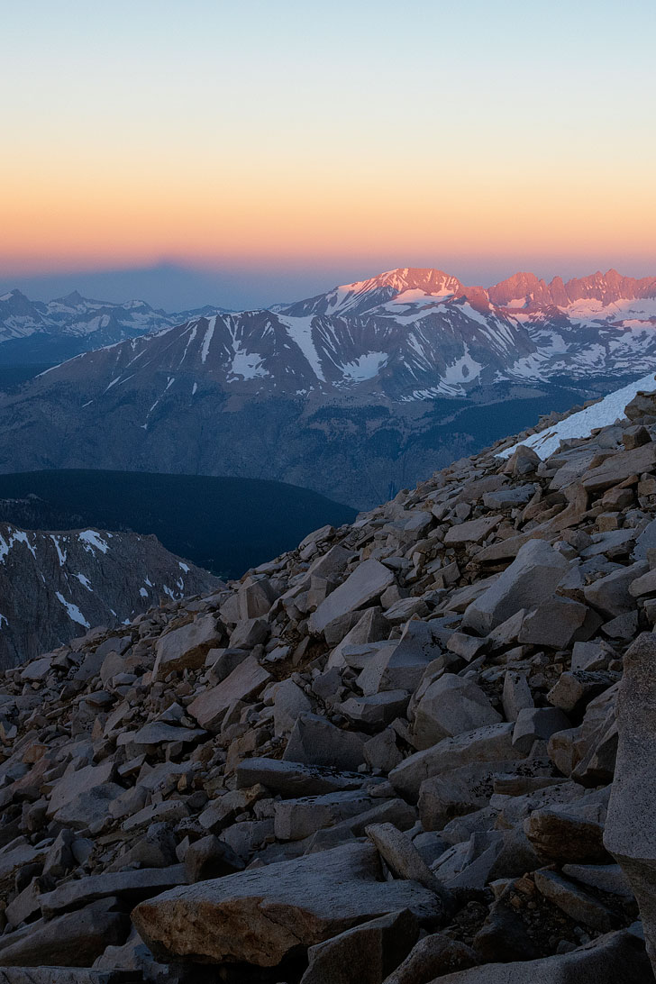 Mount Whitney - 11 Hardest Backcountry Permits to get in the US (photo: trailkrum) // localadventurer.com