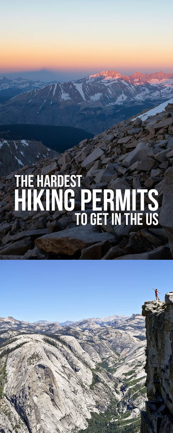 The Hardest Hiking Permits to Get in the US - National Park Backcountry Permits with the Most Competitive Lotteries // localadventurer.com